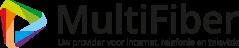 Logo MultiFiber, glasvezel provider