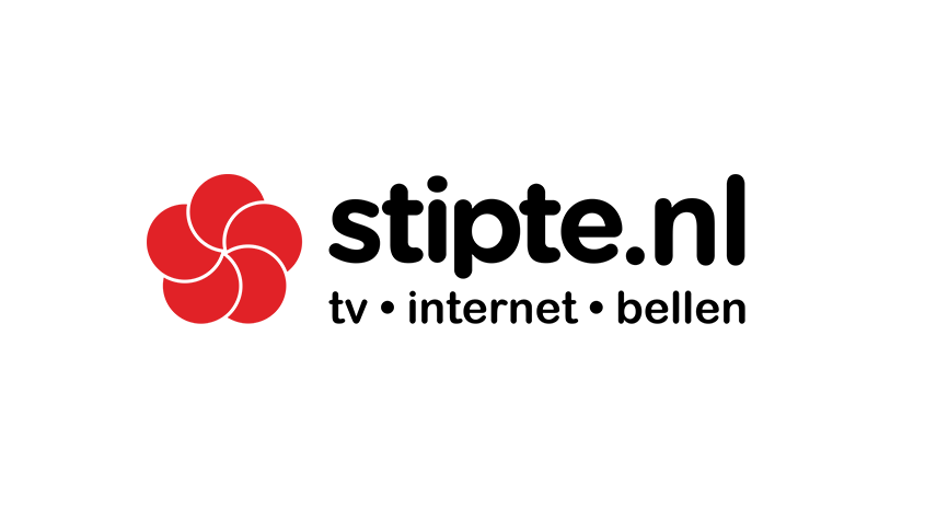 Logo Stipte, glasvezel provider