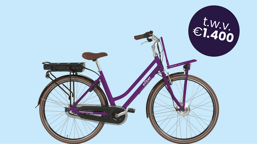 Win een E-fiber bike
