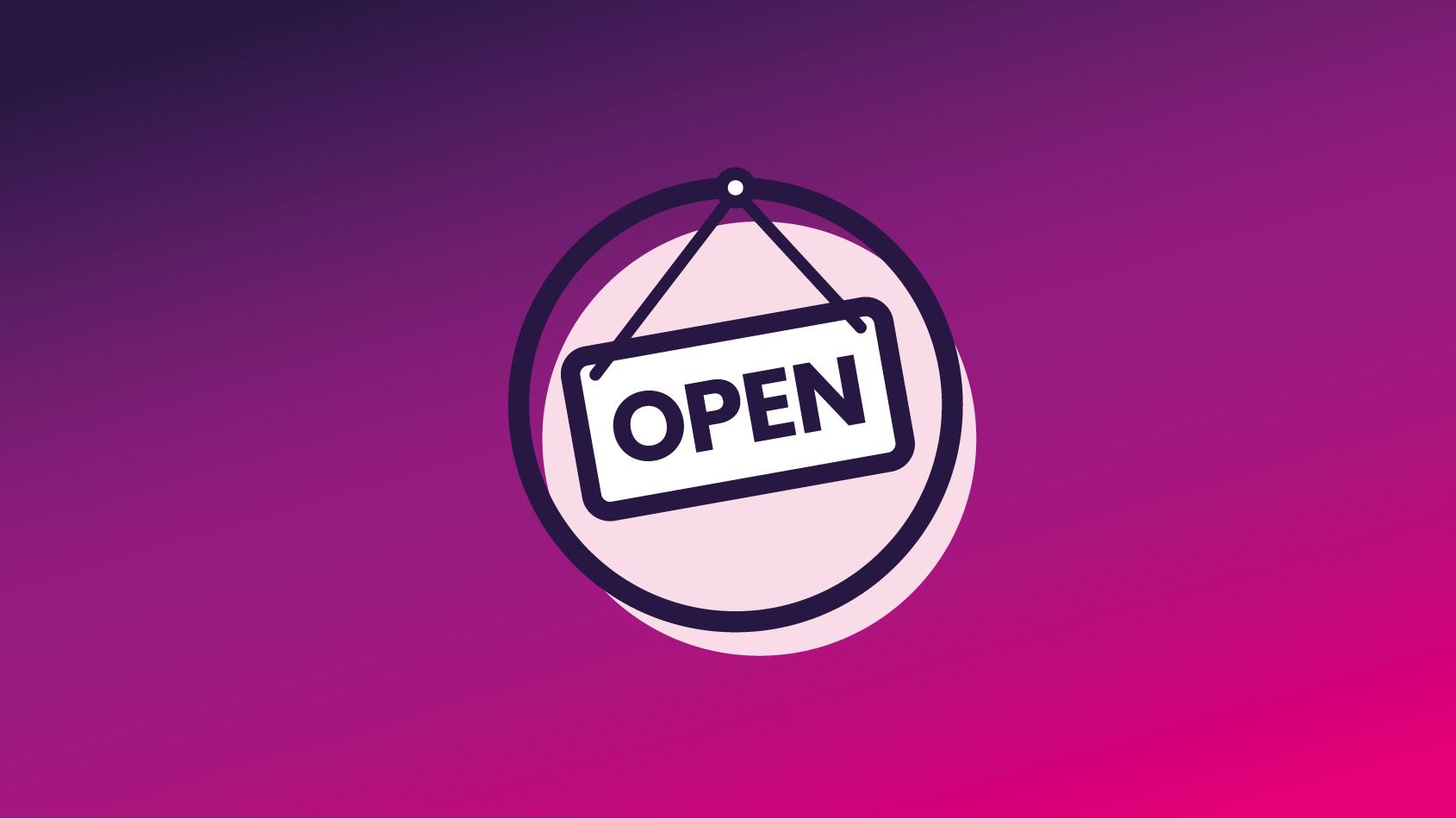 E-Fiber Open glasvezelwinkel icoon